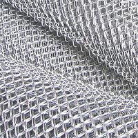 Сетка плетеная 5 - 100 мм ГОСТ 5336-80 черная и оцинкованная