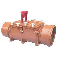 Затвор канализационный от 50 до 1400 ПВХ ПЭ и чугунный стальной