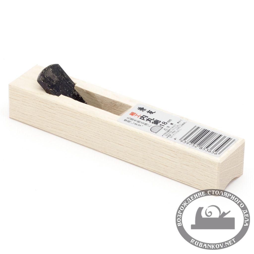 Рубанок яп. штап, Uchimaru, 140/18мм, белый дуб