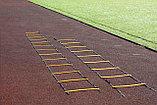 Координационная лестница TA sport, с регулируемым расстоянием между планками, фото 3