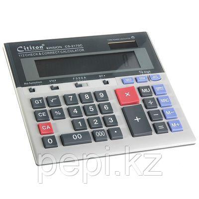 Калькулятор CT-2170C, 14 р.,двойное питание