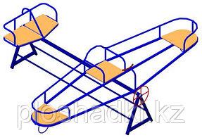 Детский комплекс самолёт, с сидениями