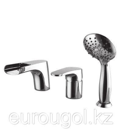 Смеситель для ванны на борт Lemark Shift L4345C