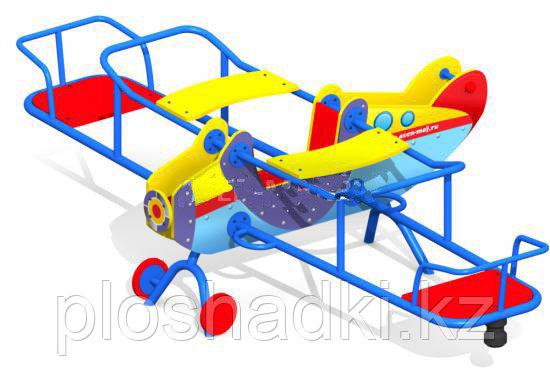 Детский комплекс самолет, с сидениями