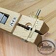 Рубанок японский для срезания фасок, раздвижной, колодка 203мм, нож 31мм, фото 4