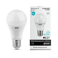 Светодиодная лампа Gauss LED Elementary Globe A60 E27 4100K, фото 1