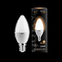Светодиодная лампа Gauss LED  E14 2700K (теплый белый), фото 1