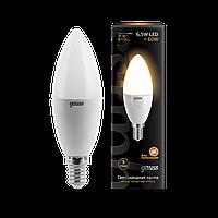 Светодиодная лампа Gauss LED Candle E14 2700 К (теплый белый), фото 1