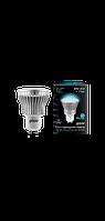 Светодиодная лампа софит Gauss LED 8W GU10 4100K FROST (холодный белый), фото 1