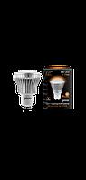 Светодиодная лампа софит Gauss LED 8W GU10 2700K FROST (теплый белый), фото 1