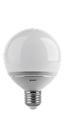 Диммируемая светодиодная лампа Gauss LED G95 E27 14W 4100K FROST, фото 1