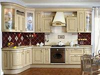 Классическая кухня в светлых тонах , фото 1