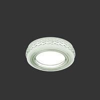 Светильник Gauss Backlight BL085 Кругл. Хром/Белый, Gu5.3, 3W, LED 3000K