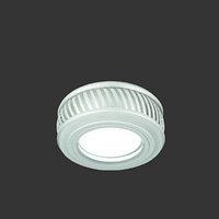 Светильник Gauss Backlight BL086 Кругл. Белый/Белый, Gu5.3, 3W, LED 3000K