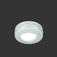 Светильник Gauss Backlight BL090 Кругл. Белый/Белый, Gu5.3, 3W, LED 3000K