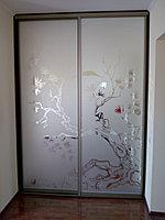 Встроенный шкаф купе Пескоструй