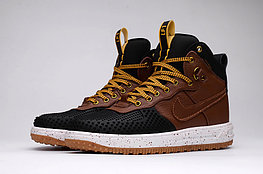 Зимние кроссовки Nike Lunar Force 1 Duckboot Yellow Black (40-47)