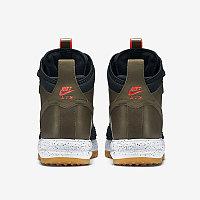 Зимние кроссовки Nike Lunar Force 1 Duckboot Dark Loden/Bright Crimson (40-47), фото 3