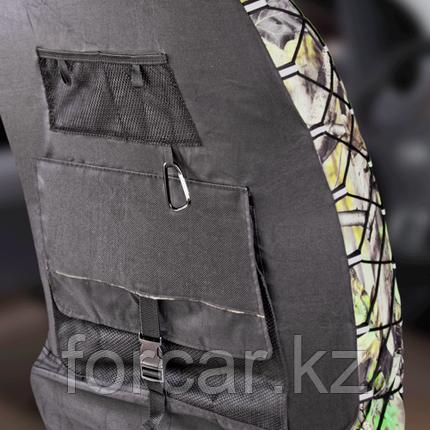 Универсальный чехол на переднее сиденье с раздельным подголовником, фото 2