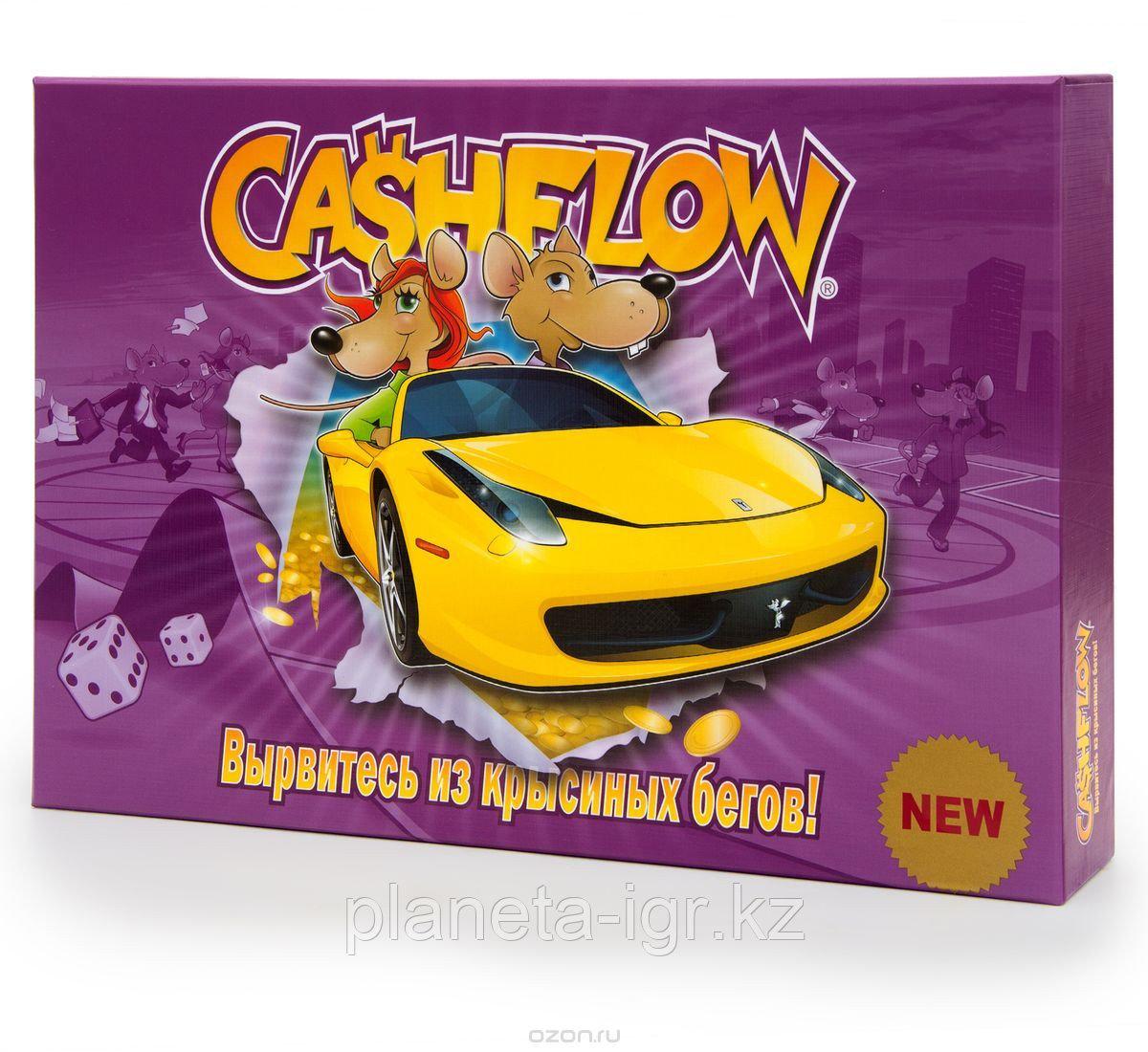 Настольная экономическая игра CASHFLOW-Денежный поток 101 От Роберта Кийосаки, версия 2014 года