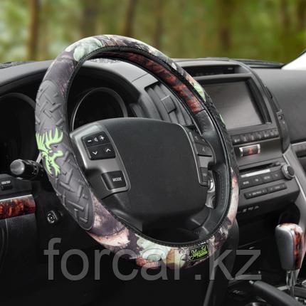 Оплётка рулевого колеса с накладками из ПВХ, фото 2