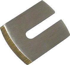 Нож для стружка с латунным корпусом, выгнутый