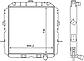 Радиатор водяной КрАЗ 260Ш-1301010ВВ, фото 2