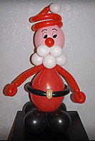 Дед Мороз из шаров в Павлодаре, фото 1