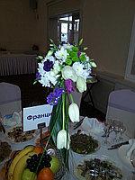 Цветы на столы для гостей, фото 1
