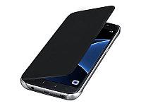 Кожаный чехол Open series на Samsung Galaxy S7 G930F (черный), фото 1