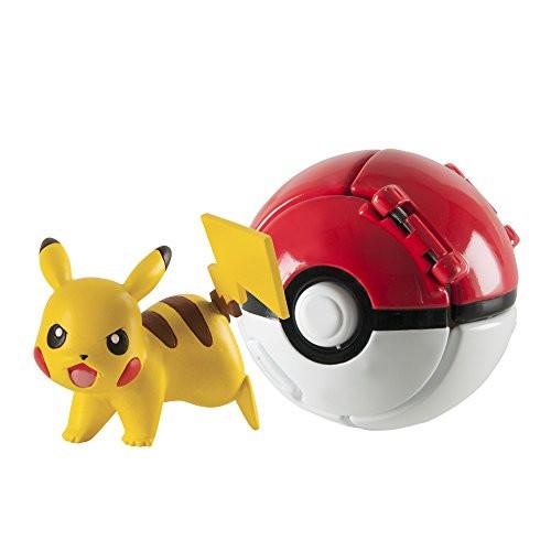 Pokemon Пикачу в складном покеболе