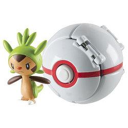 Pokemon Чепсин в складном покеболе