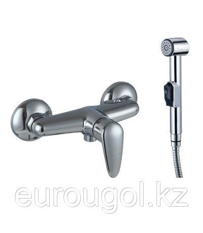 Настенный смеситель с гигиеническим душем Lemark Pramen Lm3318c