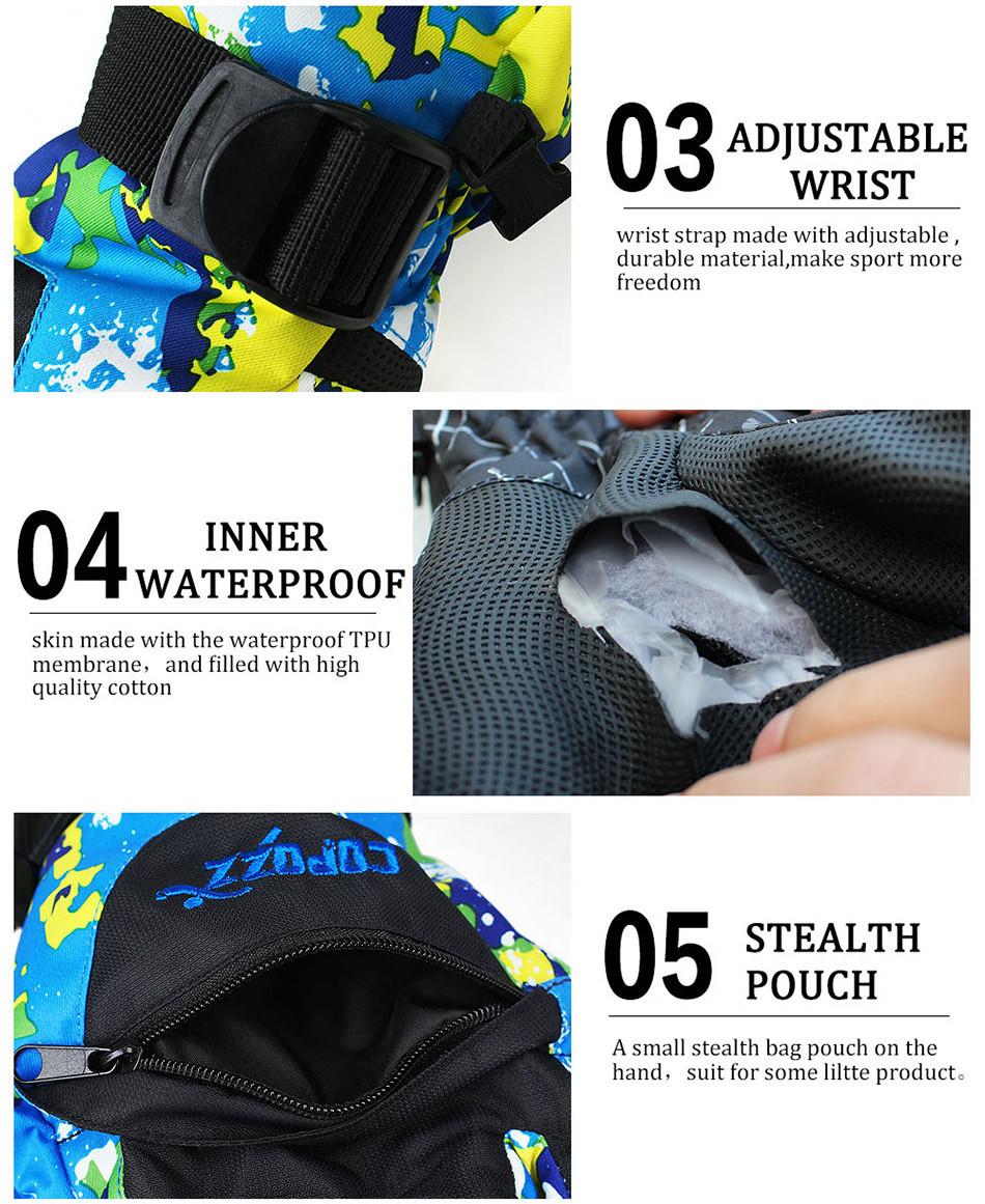 Горнолыжные перчатки COPOZZ - фото 4