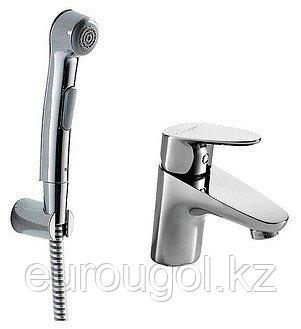 Смеситель для умывальника с гигиеническим душем BRAVAT Stream