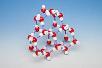 Модель кристаллической решетки льда