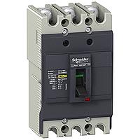 EZC100F3080 Автоматический выключатель Easypact EZC100F - TMD - 80 A - 3 полюса 3Т