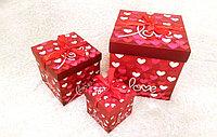 """Набор подарочных коробок """"Love"""", фото 1"""