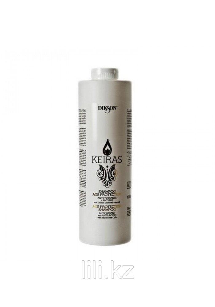 Шампунь тонизирующий для питания и укрепления волос Dikson Keiras Shampoo Age Protection 1000 мл.