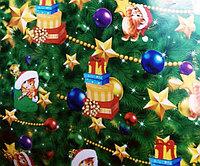"""Новогодняя бумага для упаковки подарков """"Милые котята"""", фото 1"""
