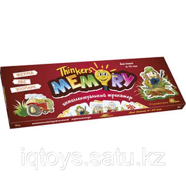Развивающая игра THINKERS 10601 6-12 лет Memory