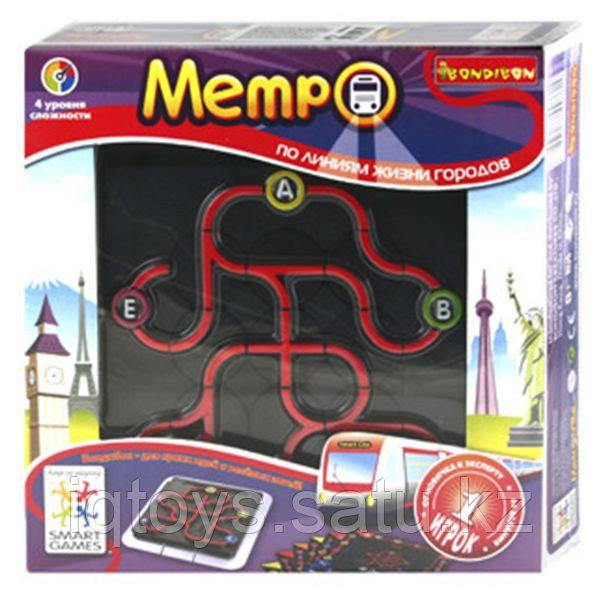 Метро - логическая игра BONDIBON SMARTGAMES