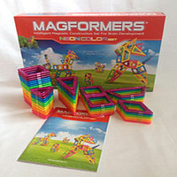Magformers Neon Color Set, фото 1