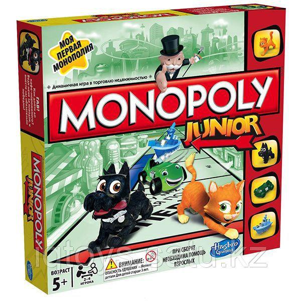 Настольная игра HASBRO GAMING Моя первая монополия