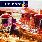 Стаканы Luminarc FIRE&ICE низкие 300мл 3 шт. , фото 2
