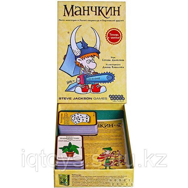 Настольная игра Hobby World Манчкин(Munchkin)