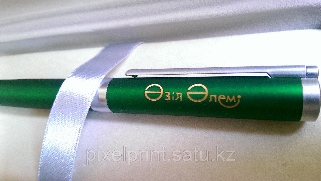 Лазерная гравировка на ручках в Алматы