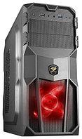 "Корпус для компьютера ""Кейс COUGAR MX200: Motherboard support:Full ATX/Micro ATX/Flex ATX,2 x USB+Audio,Black"""