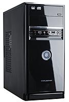"Корпус для компьютера ""Кейс QMAX A08B: Motherboard support:Full ATX/Micro ATX/Flex ATX,2 x USB+Audio,Black"""