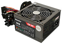 "Блок питания для ПК ""HuntKey GS550 550PZW ATX  P4 +24 pin, SATA,6Pin,Black,12sm Fan,Box"""